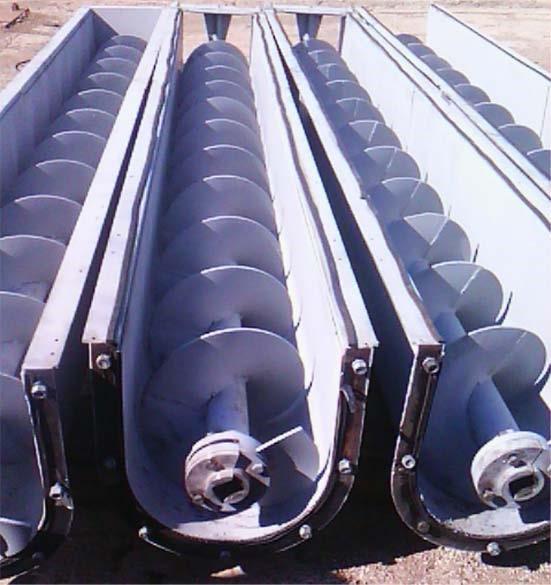 Винтовой конвейер в строительстве конвейер грузонесущий подвесной